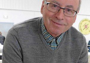 Jean-Pierre Lemasson en visite à Mortagne-au-Perche en France